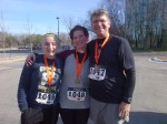We had a great time and finished strong in last month's Gobbler Grind Half Marathon, which we ran the Sunday before Thanksgiving in Overland Park, KS.