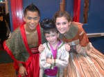 "Tom, pictured here with the king and Anna, did a great job last month in Truman High School's four performances of ""The King and I."""