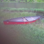 The Royalex solo canoe ready for her maiden voyage!