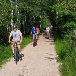 Our ride on the Mickelson Trail in the Black Hills National Forest was spectacular.